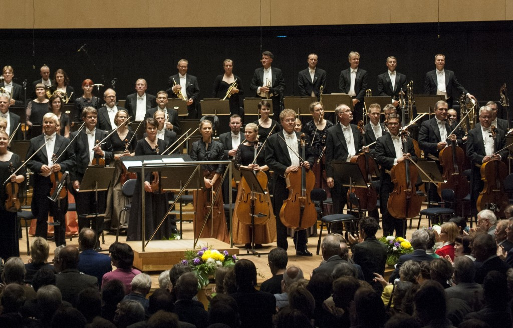 Lahti Symphony Orchestra in the Sibelius Hall (photo: © Juha Tanhua)