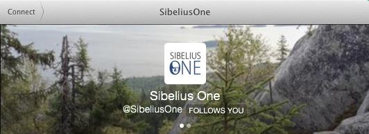 Twitter @Sibeliusone