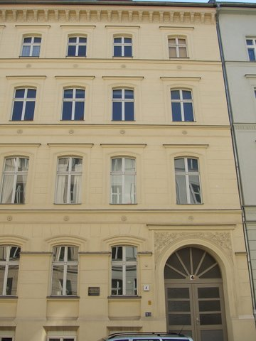 Marienstraße 4, Berlin: the first of Sibelius's three residences during his study year in Berlin (1889–90). Photo: Anjali Dhar