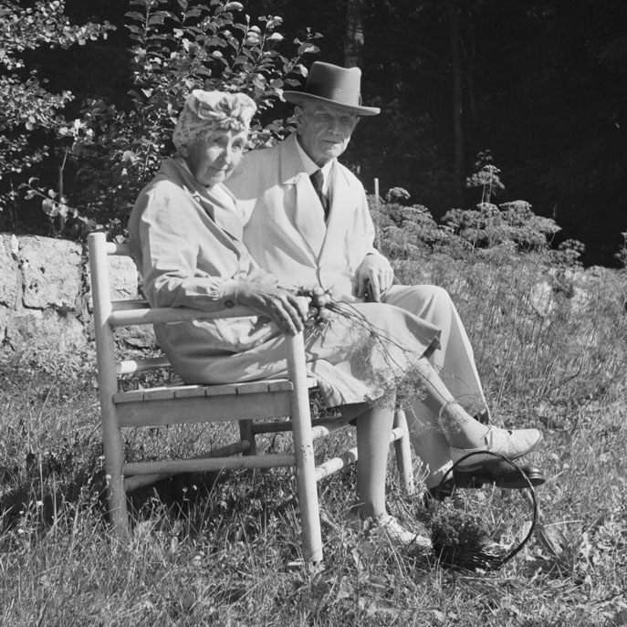 Aino and Jean Sibelius (photo: © Santeri Levas / Finnish Museum of Photography)