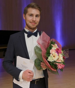 Aarne Pelkonen, winner of the Third International Sibelius Singing Competition (Photo: © Heikki Tuuli)