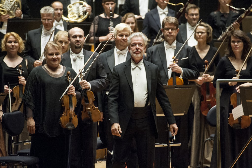 Jukka-Pekka Saraste and the Lahti Symphony Orchestra (photo: © Juha Tanhua)