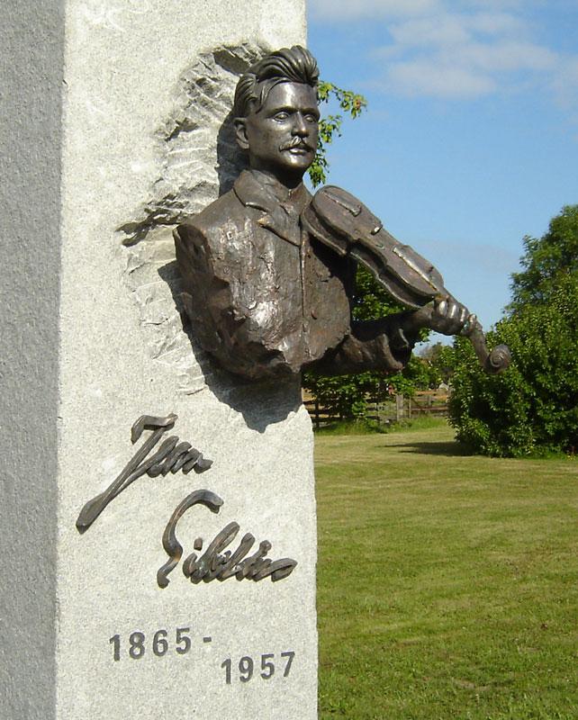 The Sibelius Statue in Korpo (photo: © Sibelius One)