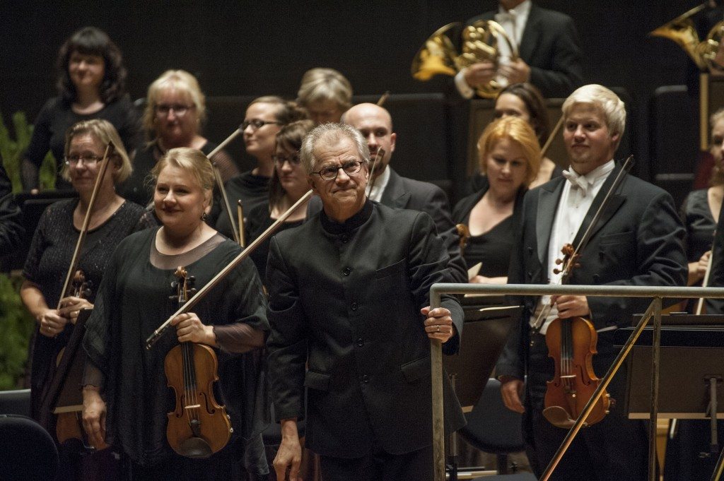 Osmo Vänskä and the Lahti Symphony Orchestra (photo: © Juha Tanhua)