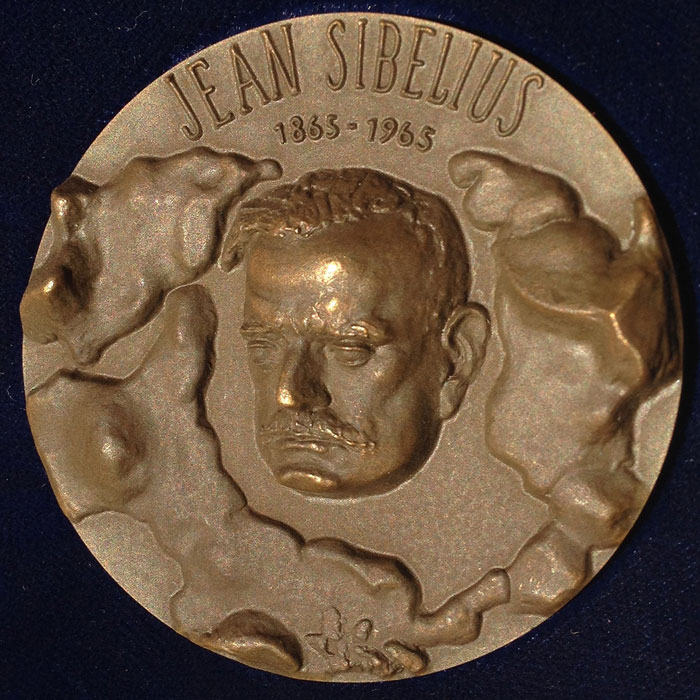 The Sibelius Medal (photo: © Sibelius One)