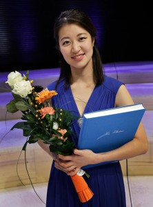 Christel Lee, winner of the 11th International Jean Sibelius Violin Competition (Photo: © Heikki Tuuli)