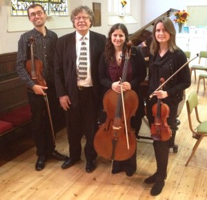 Sibelius One Chamber Players and Folke Gräsbeck at 'Sibelius on Sea', Brighton Unitarian Church, 2 November 2015