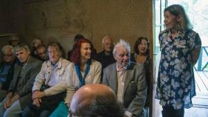 Hilkka Helminen (curator of Ainola) addressing the Annual General Meeting of Sibelius One (photo: Leon Chia)
