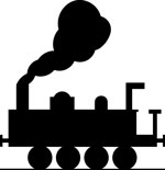 silhouette-of-a-train-pv