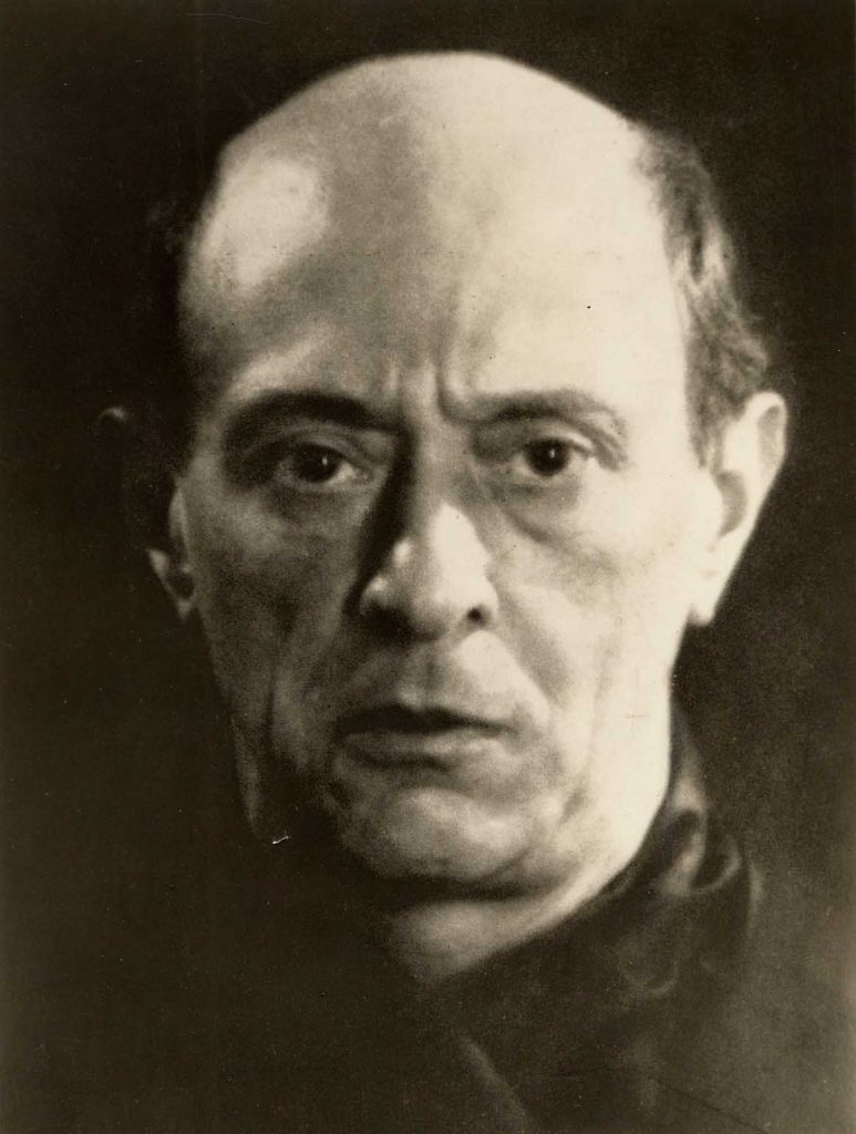 Arnold Schoenberg, 1927. Photo © Man Ray / CC BY-SA 2.0