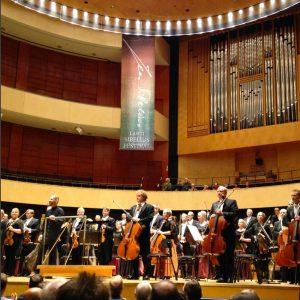 The Lahti Symphony Orchestra and Dima Slobodeniouk at the 2016 Sibelius FEstival (photo: © Lahti SO)